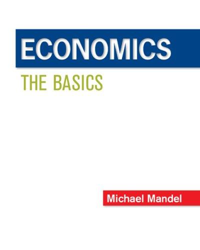 Economics: The Basics (Irwin Series in Economics)