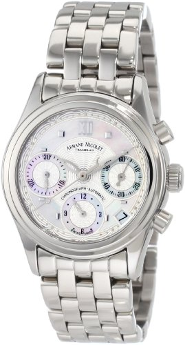 Armand Nicolet Women's 9154A-AN-M9150 M03 Classic Automatic Stainless-Steel Watch