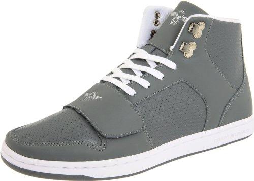 creative recreation men s cesario high top sneaker grey 11 m us