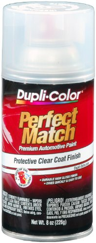 Dupli-Color BCL0125 Clear Exact-Match Automotive Top Coat - 8 oz. Aerosol