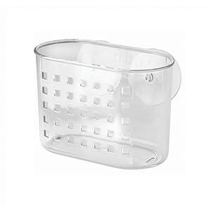 InterDesign Suction Basket, Clear