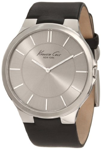 kenneth-cole-new-york-mens-kc1847-stainless-steel-watch-with-black-leather-band