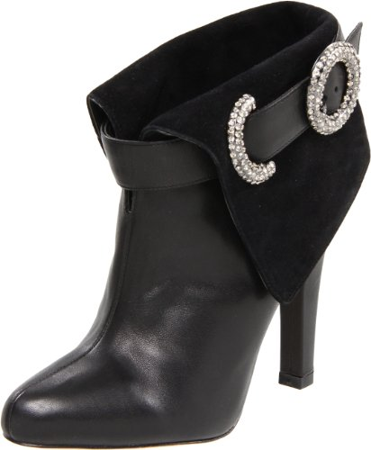 Bourne Women's Victoria Black Ankle Boot L08621 7 UK