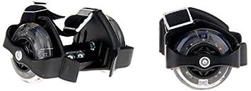 Noname - Rfl-3led - Rollers Avec Flash Lumineux - 3 Diodes Intégrées - Noir