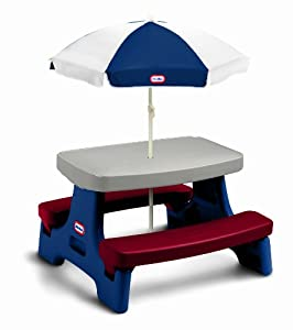 Little Tikes Easy Store Jr Play Table With Umbrella from Little Tikes
