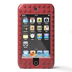 TinkerBrick Case for iPod Touch 4g (Red)