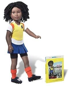 Karito Kids Lulu From Kenya World Collection Doll/Book Starter Set