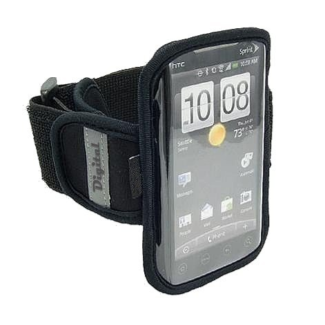 "High Grade Water Resistant Exercise Sports Gym Armband For Sprint Htc Evo 4G Lte / Htc One ""Mini"" / Galaxy S4 ""Mini"" / Sony Z1S ""Mini"" Mobile Phone"