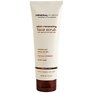 Mineral Fusion, Skin-Renewing Face Scrub, 4 oz (113 g) by Mineral Fusion