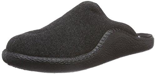 Romika Mokasso 291, Pantofole non imbottite uomo, Grigio (Grau (anthrazit 700)), 49