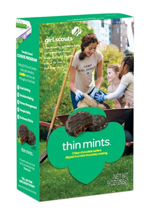 Girl Scout Thin Mints Cookies