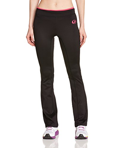 ultrasport-womens-antibacterial-fitness-pants-long-with-quick-dry-function-black-pink-x-large