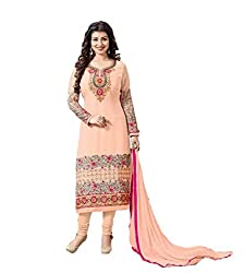 Bhavya Collection Women's Cotton Unstiched Dress material (bg_01_Beige)