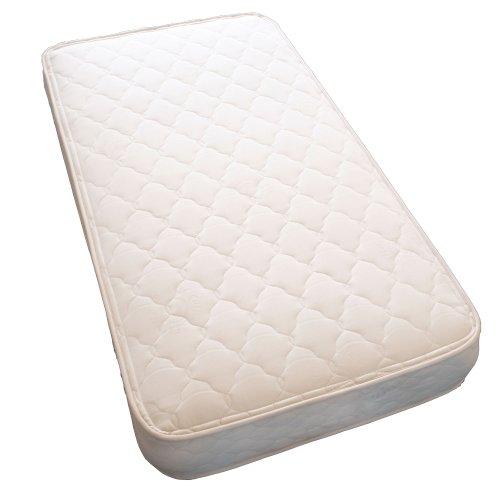 Lifekind Certified Organic Natural Rubber Crib Mattress - 28 X 52 X 5 Inches - No Chemical Flame Retardants front-186821