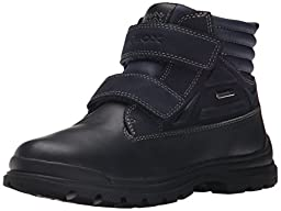 Geox J William ABX 3 Boot (Toddler/Little Kid/Big Kid), Navy, 24 EU (8 M US Toddler)