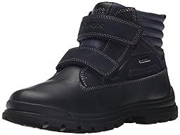 Geox J William ABX 3 Boot (Toddler/Little Kid/Big Kid), Navy, 25 EU (8.5 M US Toddler)