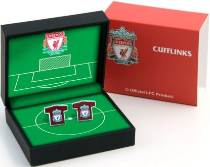 Liverpool FC Cufflinks Shirt Shape