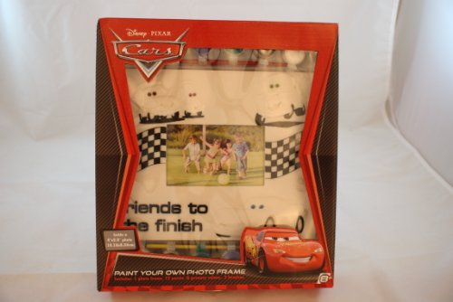 Disney Pixar Cars Paint Your Own Photo Fram