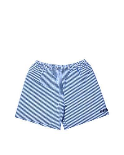 Grigioperla Boxer da Bagno [Azzurro/Bianco]