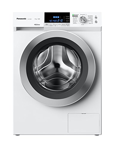 Panasonic Deutschland NA-148XR1WDE Waschmaschine FL / 117 kWh/Jahr / 1400 UpM / 9750 L/Jahr / Top Energieeffizienz Klasse A+++ -40% / Füllmenge 8 kg / weiß