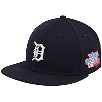 MLB New Era Detroit Tigers Navy Blue 1984 World Series 59FIFTY Fitted Hat by New Era