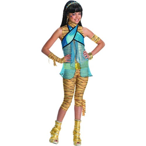 Rubies Costume Co Monster High Cleo De Nile Girls Costume Childs Medium