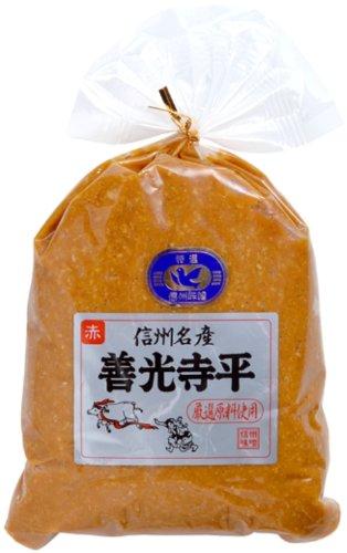 マルモ青木味噌醤油醸造場 信州名産 善光寺平赤 1kg