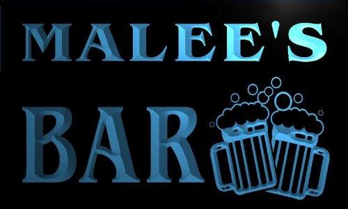 w120010-b-malees-name-home-bar-pub-beer-mugs-cheers-neon-light-sign
