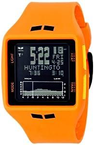 Vestal Men's BRG021 Brig Tide & Train Digital Display Japanese Quartz Orange Watch
