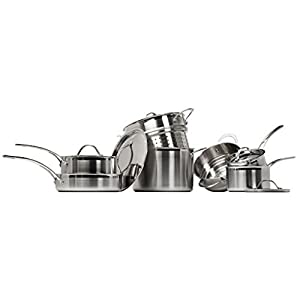 Heritage 12-piece Cookware Set 18/10 Stainless Steel