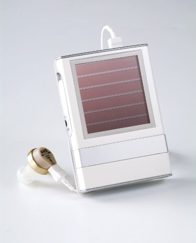 Solar Rechargeable Personal Sound Amplifier. No need of Battery, Energy and Cost Saving, Large Volume Control and Easy to operate