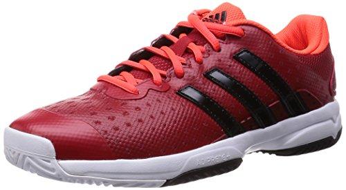 [アディダス] adidas テニスシューズ barricade team 4 J B34276 B34276 (パワーレッド/コアブラック/ソーラーレッド/23.0)