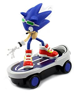 Amazon.com: Sonic Free Riders Sonic the Hedgehog Skateboard Electric
