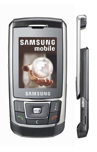 Samsung SGH-D900i silber Handy