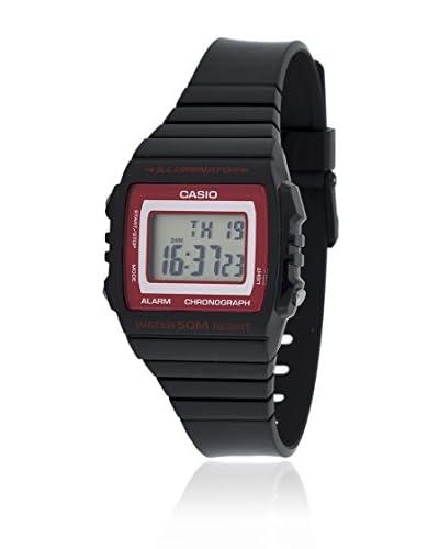 Casio Reloj con movimiento cuarzo japonés W-215H-1A2 Negro 43.8  mm