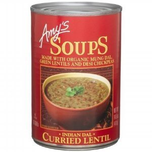 Amy's Kitchen Indian Dal Curried Lentil Organic Soup (Pack of 2)