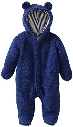 Magnificent Baby Baby-Boys Infant Hooded Bear Pram, Blueberry, 3 Months