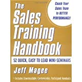 img - for Sales Training Handbook [Hardcover] [2001] 1 Ed. Jeff Magee book / textbook / text book