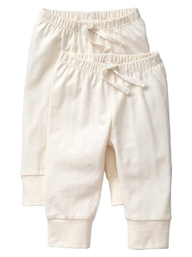 Gap Baby Organic Banded Pants 2 Pack Size 12-18 M front-1036798