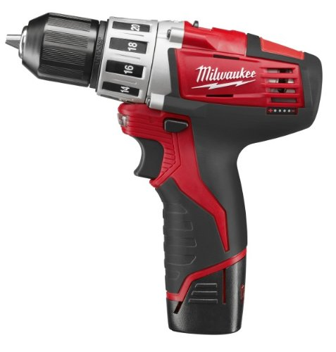 Milwaukee 2410-22 M12 12-Volt 3/8-Inch Drill/Driver front-636676