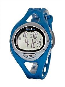 Timex Unisex T5K049 Blue Ironman Sleek iControl Resin Strap Watch
