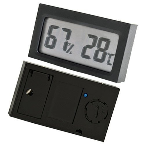SODIAL(R) LCD Thermometer Hygrometer Feuchtigkeit Wetterstation