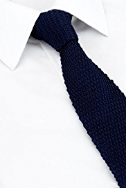 Longer Length Autograph Pure Silk Knitted Tie