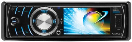 Planet Audio P9692B In-Dash Single-Din 3.2-Inch Detachable Screen Dvd/Cd/Sd/Mp4/Mp3 Player Receiver Bluetooth Streaming Bluetooth Hands-Free With Remote