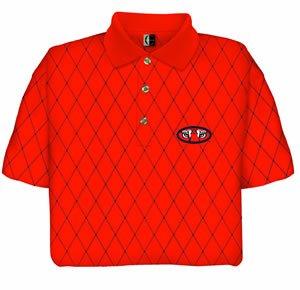 Auburn Tigers Chiliwear Printed Pique Shirt by Chiliwear LLC