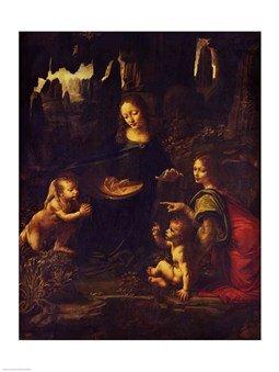 Madonna Of The Rocks Da Vinci