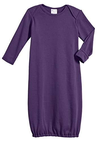 100% Cotton Baby Sleeping Bag Gown - Purple - 0/3 m