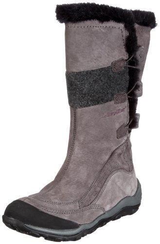 Cat Footwear Women's Molten Dark Gull Grey Lace Ups Boots P305184 6 UK