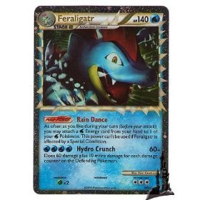Favorite card - The PokéCommunity Forums Shiny Feraligatr Card
