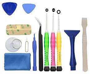 iPhone 4 / 4S / 5 / 5C / 5S/ 6 / 6 Plus (GSM/CDMA) Complete Premium Tool Kit - 13 piece